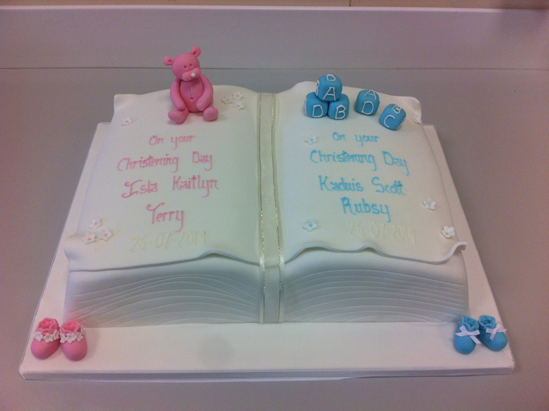 Open Book Cake Images : The Little Cake Place   Celebrations   Christening & Holy ...